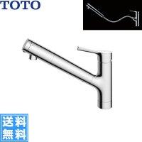[TKS05308J]TOTO浄水器兼用シングル混合水栓[ハンドシャワー・吐水切り替えタイプ][一般地仕様]【送料無料】