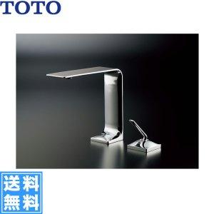 画像1: [TLP02306JA]TOTO台付シングル混合水栓[ワンプッシュ式]【送料無料】